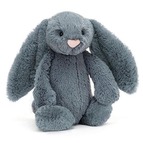 Bashful  Bunny Medium Dusky Blue