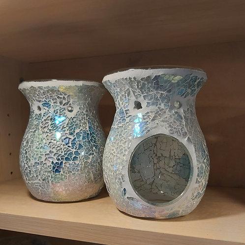 Blue Mosaic Wax Melt Burner