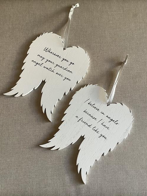 Angel Wing Plaque