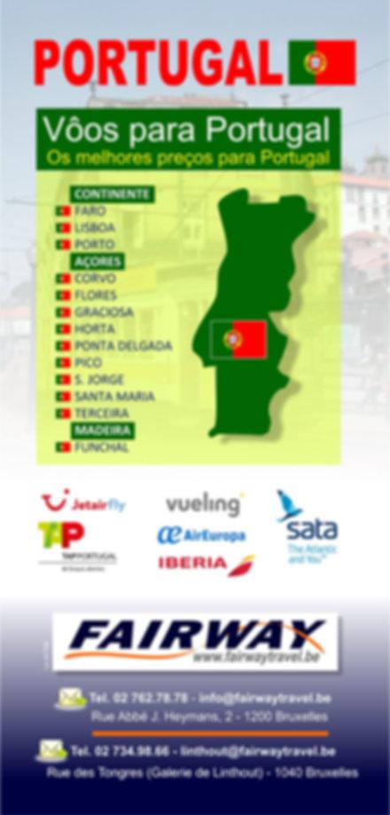 Les meilleurs tarifs aériens vers le Portugal