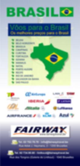 Les meilleurs tarifs aériens vers le Brésil