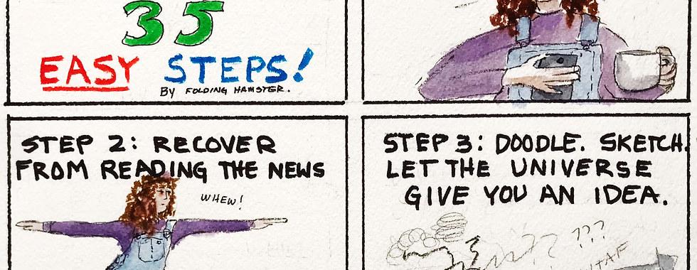 Cartooning. Not for weenies.