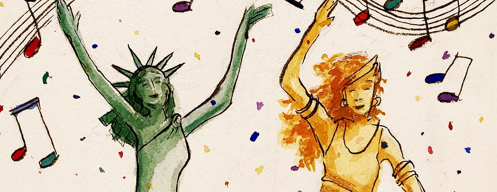 Justice and Liberty party like it's 2021. #TheAdventuresOfJusticeAndLiberty