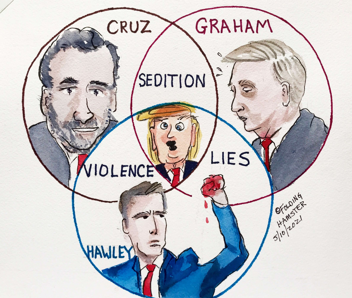 My mind is a veritable cesspool of Venn Diagrams. #Insurrection #TheBigLie