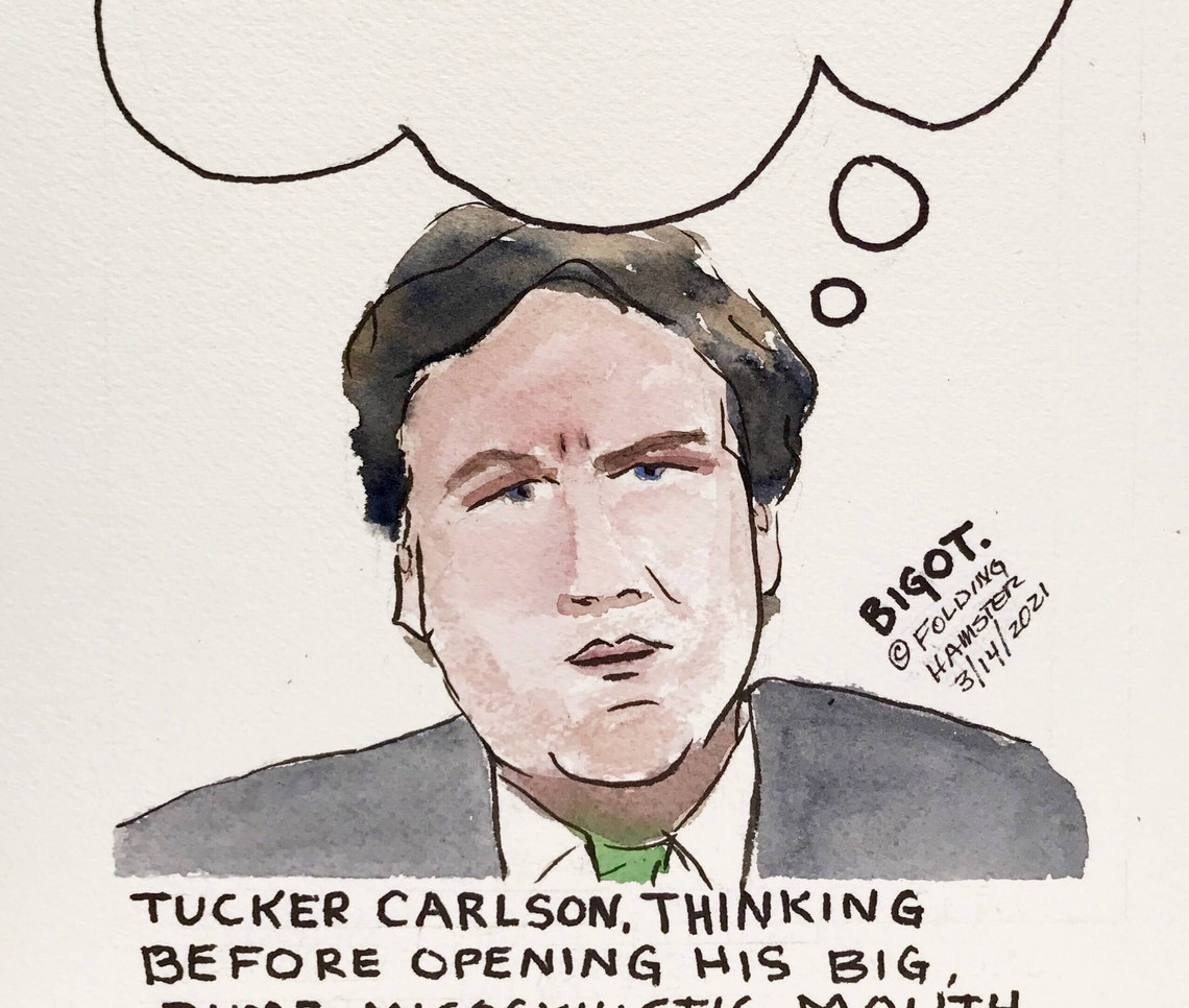 Tucker managed to piss off Senator Tammy Duckworth. Again. Dontate to Tammy in F*ckTucker's name. Join me!