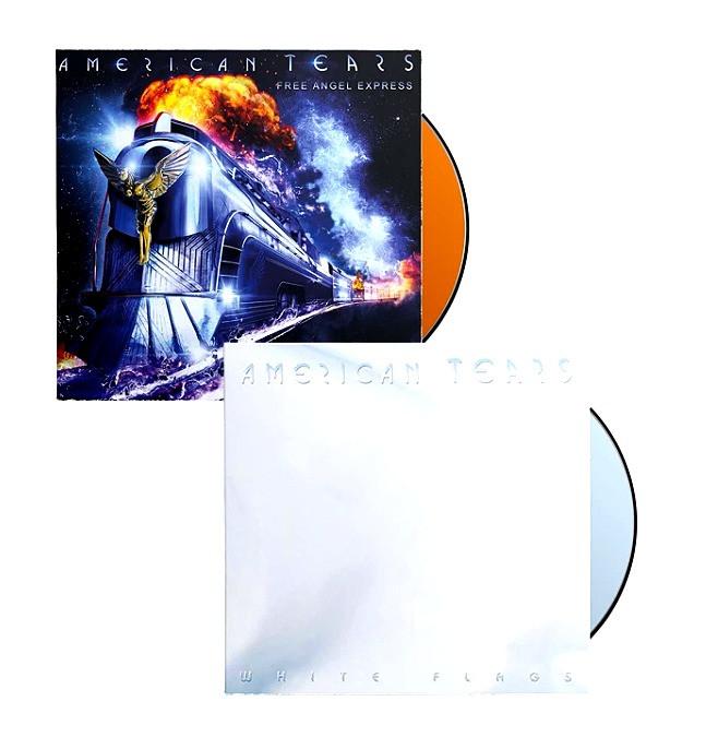"American Tears ""White Flags"" & ""Free Angel Express"" CD Bundle"