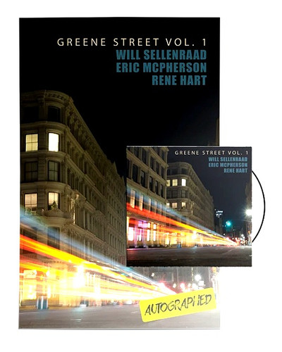 """WILL SELLENRAAD """"GREENE ST VOL. 1"""" CD and POSTER BUNDLE"""