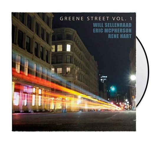 """WILL SELLENRAAD """"GREENE ST VOL. 1"""" CD"""