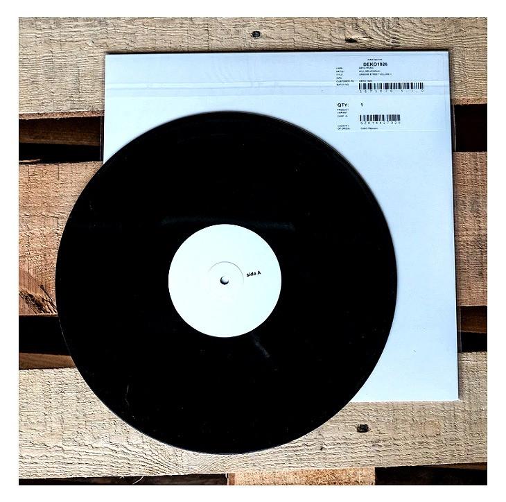 """WILL SELLENRAAD """"GREENE ST VOL. 1"""" LP TEST PRESSING"""