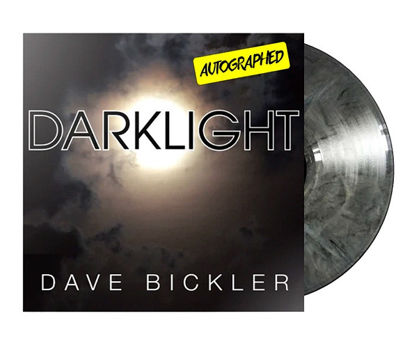 "Dave Bickler - ""Darklight"" (AUTOGRAPHED) LTD Edition Gray Marble"