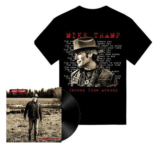 Mike Tramp - Second Time Around Vinyl LP Bundle