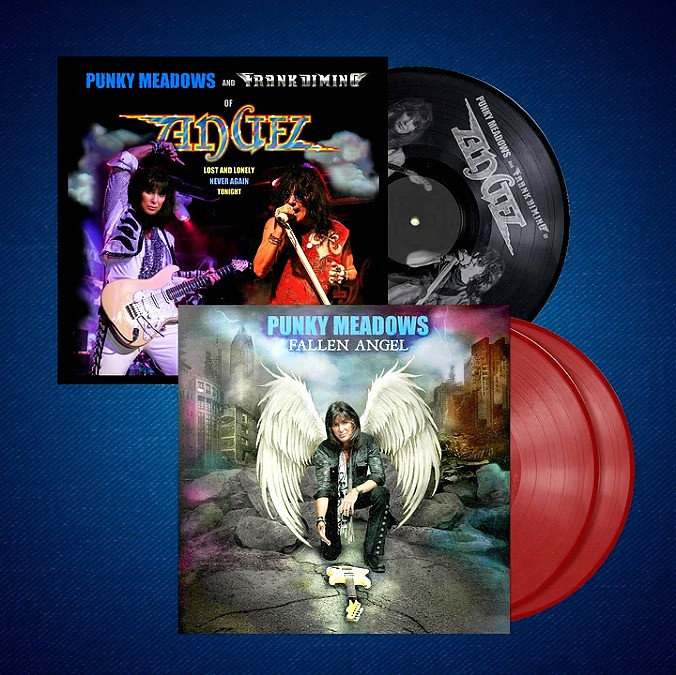 "Punky Meadows ""Fallen Angel"" + Angel ""Lost and Lonely/Never Again"" Vinyl Bundle"