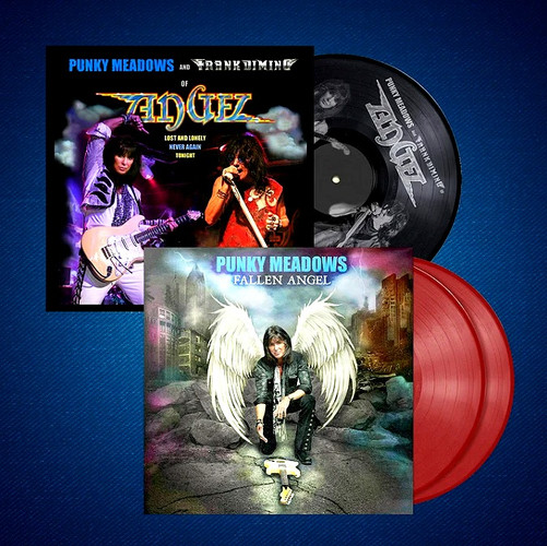 """Punky Meadows """"Fallen Angel"""" + Angel """"Lost and Lonely/Never Again"""" Vinyl Bundle"""