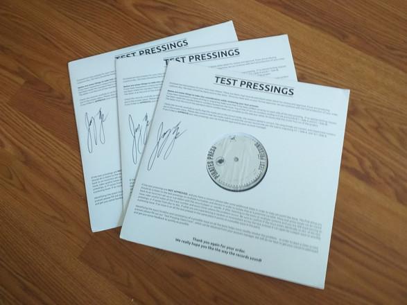 Test Pressing