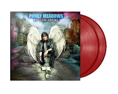 """Punky Meadows """"Fallen Angel"""" 2XLP Red"""