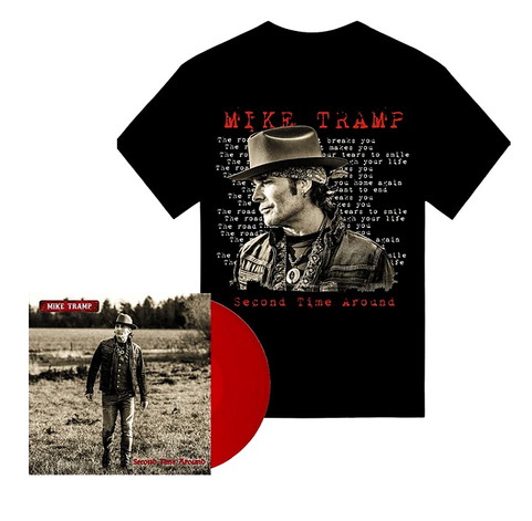 Mike Tramp - Second Time Around Limited Edition Vinyl LP Bundle