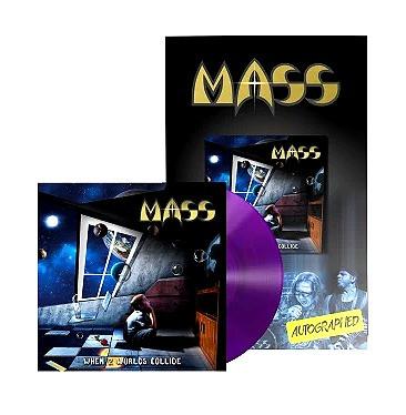 MASS - When 2 Worlds Collide LP Poster Bundle