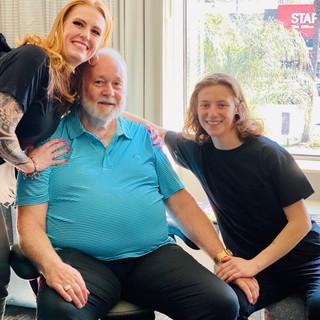Janie, Ron, Skye