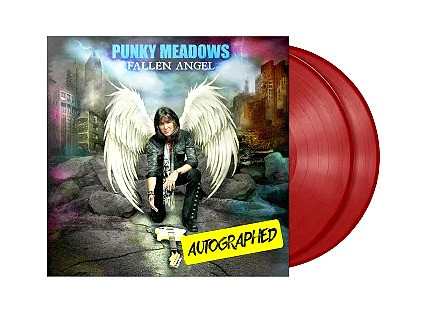 "Punky Meadows ""Fallen Angel"" AUTOGRAPHED 2XLP RED"
