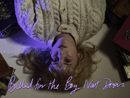 "NYC Indie-pop teen artist Emmrose released a dreamy tune ""Ballad for the Boy Next Door"""