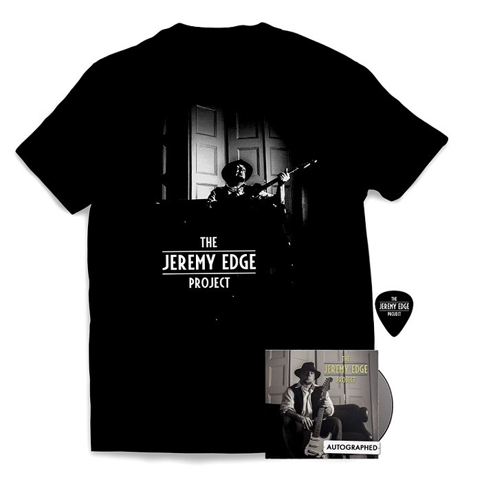 "The Jeremy Edge Project - ""Self-Titled"" CD Bundle (Autographed)"