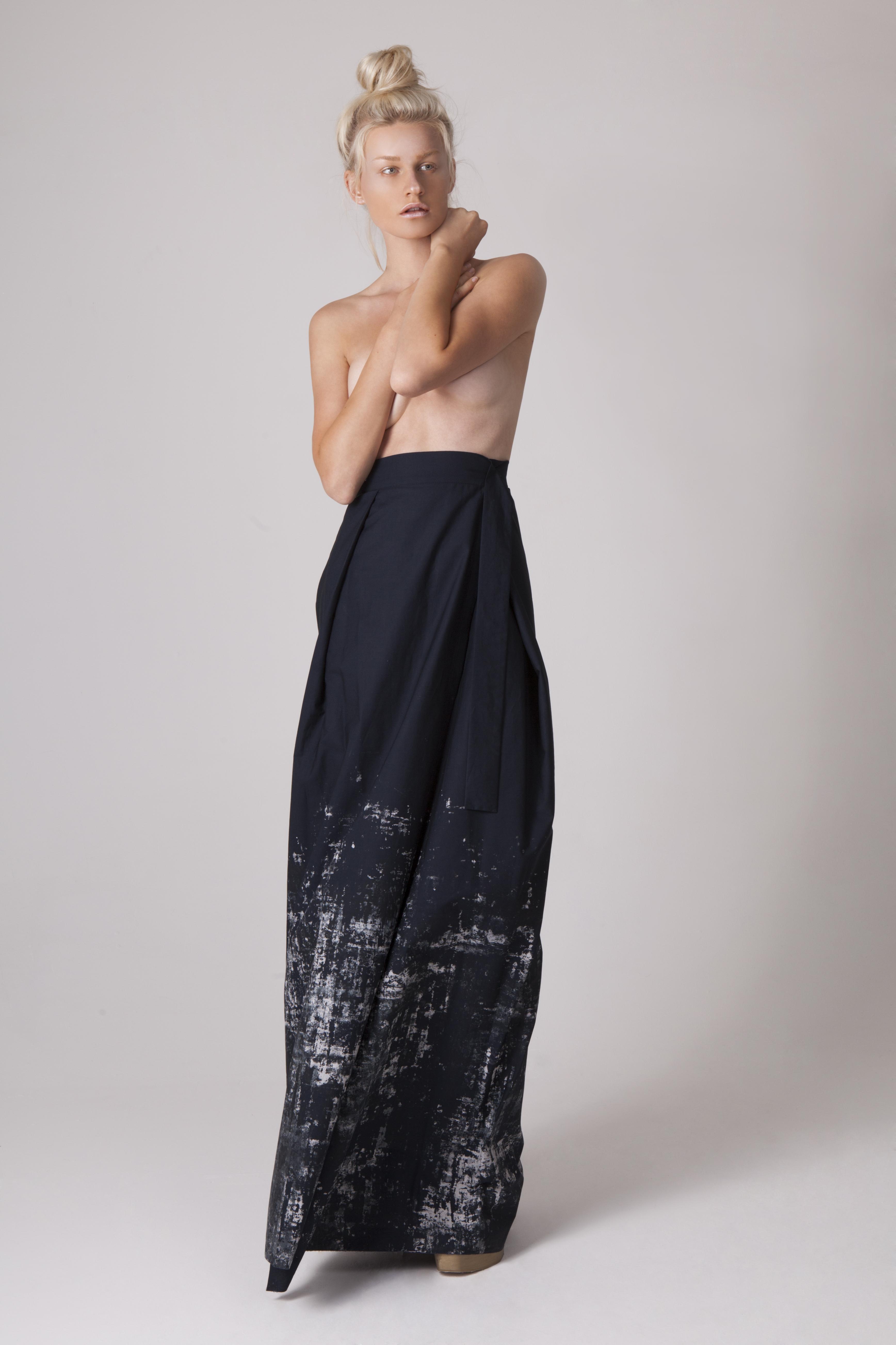 Screen Printed Skirt