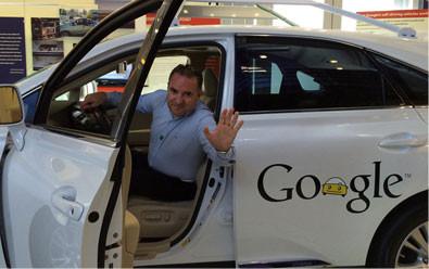 Nella sede di Google, Montain View (CA) USA