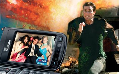 TIM mobile TV, la prima Mobile TV al mondo di TIM Edge e 3G (2004)