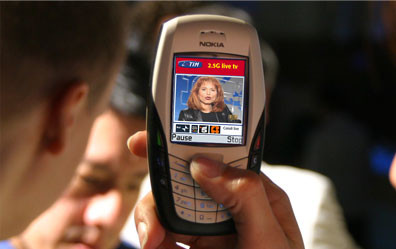 i.TIM mobile tv, the first TIM 2.5G Mobile TV in the world (2004)