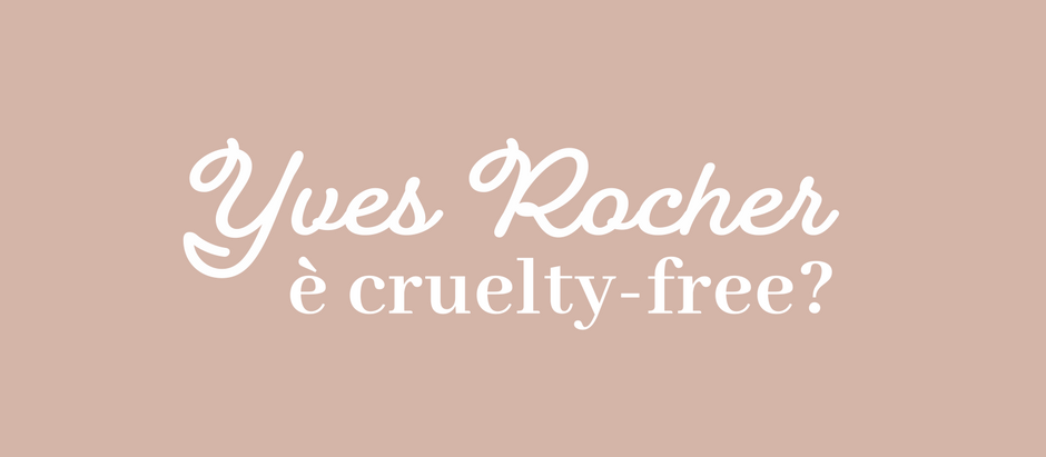 Yves Rocher è cruelty-free?