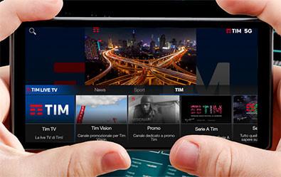 Primo servizio al mondo di streaming multi view su tecnologia 5G
