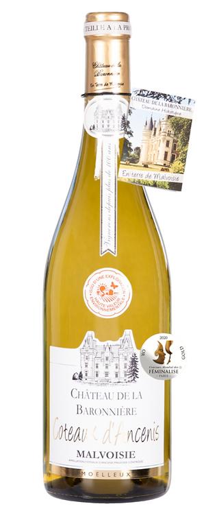"""AOC Malvoisie Coteaux d'Ancenis moelleux """"Château de la Baronnière"""""""