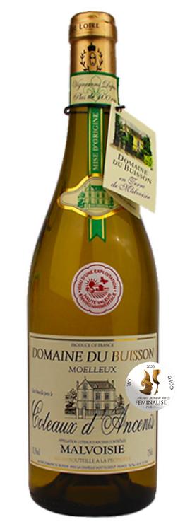 """AOC Malvoisie Coteaux d'Ancenis moelleux """"Domaine du Buisson"""""""