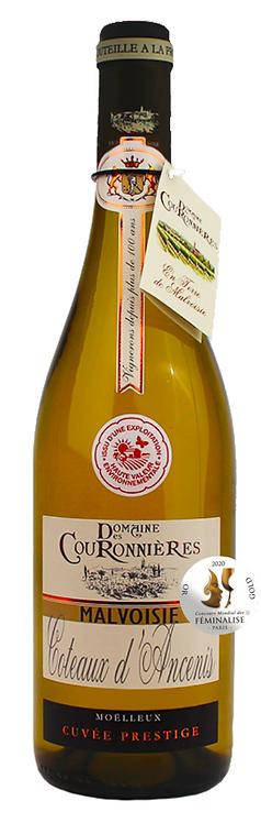 """AOC Malvoisie Coteaux d'Ancenis moelleux """"Domaine des Couronnières"""""""