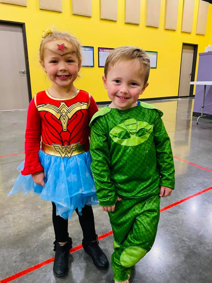 Super Hero Day at SHCDC!