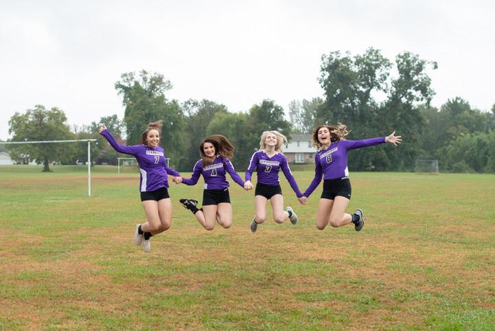 Volley Ball High School Seniors