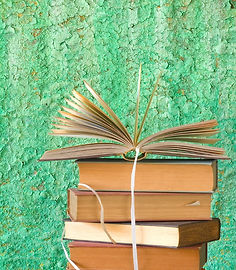 GREEN stack-of-books-picture-id510763467