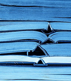 classic-blue-color-stack-of-old-books-ba
