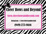 Cheer Bows & Beyond