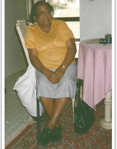 Senior citizen relaxing at home