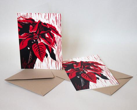 Poinsettia Cards