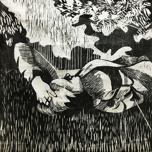 brooke in grass woodcut.jpg