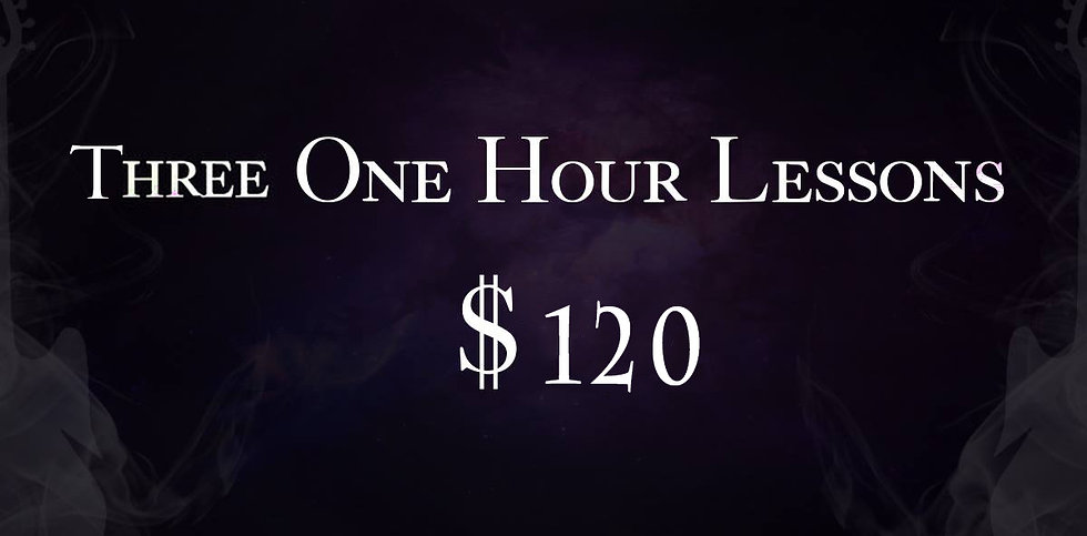 Three One Hour Lessons
