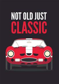 Ferrari GTO Birthday Card