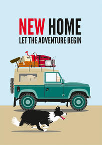Land Rover New Home Card