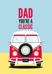 VW Camper Birthday Card