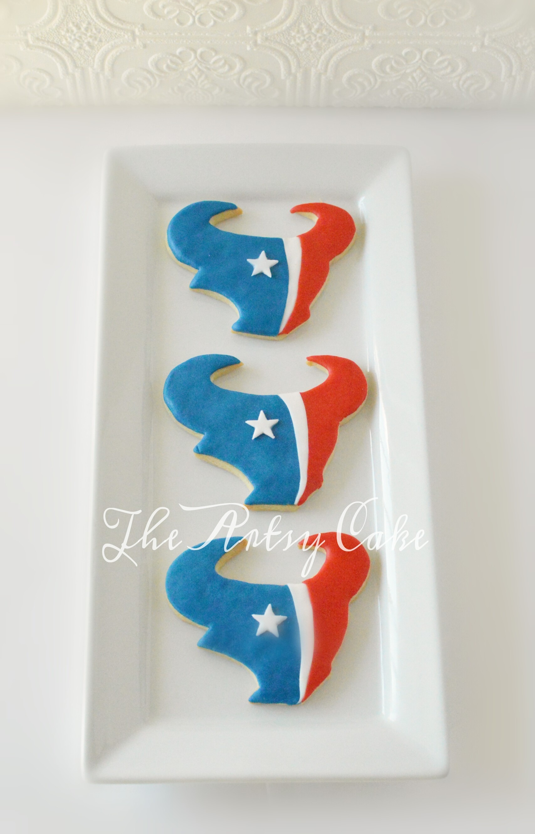 Houston Texan cookies