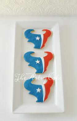 Houston Texan cookies