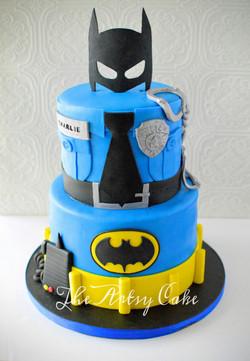 Police_ Batman combo