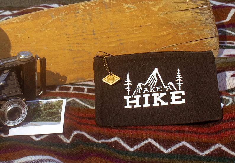 take a hike black travel bag